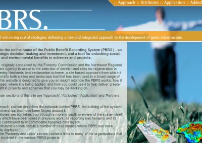 Public Benefit Recording System (PBRS)