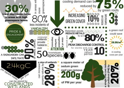Costs & benefits of natural capital infographic