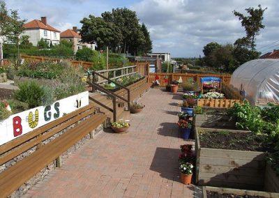 Balornock Urban Garden Scheme, Glasgow